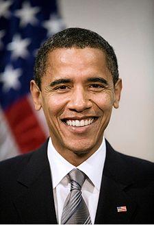 225px-Poster-sized portrait of Barack Obama