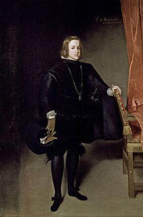 300px-Retrato del príncipe Baltasar Carlos, by Martínez del Mazo