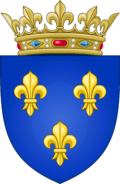 Arms of the Kingdom of France (Moderne)
