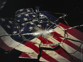 Broken-US-flag