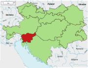 Location Slovenia A-H (TNE)