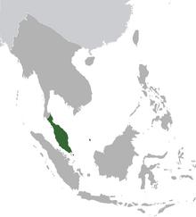 Malaya map