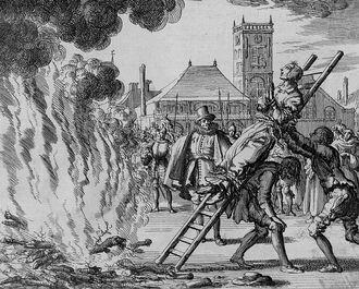 Казнь протестантов