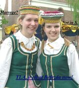 Gag Lithuanian traditional headdress