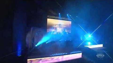 Hulk Hogan TNA debut (entrance only) HQ