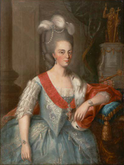 Retrato da Rainha D. Maria I - J.B. Gerard