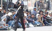 U Lampedusa Migration Tunesien