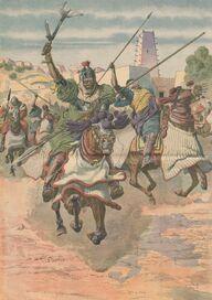 Wadai horsemen (1912)