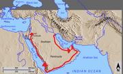 Alexander's-Route-Through-Arabia
