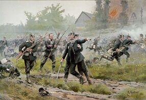 Немецких солдат