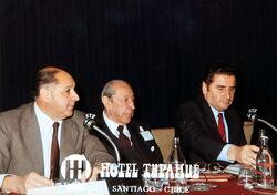 Luis Pareto, Hugo Zepeda Barrios y Dupré