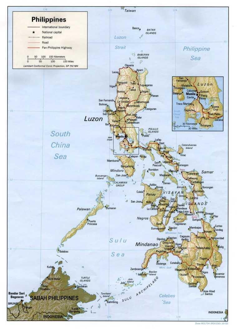 Kingdom of the Philippines Atomic World Map Game Alternative