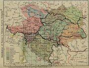 Teilungsplan Ö-U nach Völkergruppen