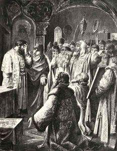 Борис Годунов призван на царство