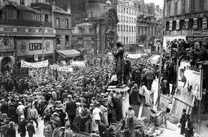 Демонстрация франции