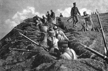 Сербские солдаты