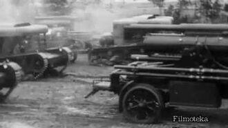 1 Pułk Artylerii Najcięższej w polu