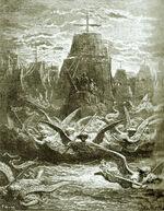 Gustave Doré, le départ de Louis IX pour la croisade