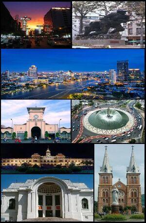Saigon Collage