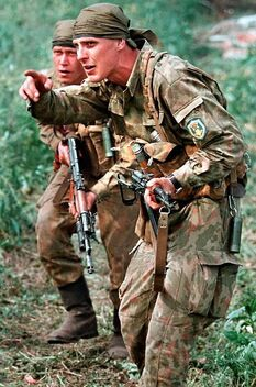 Подразделения ВДВ во время Чечнской кампании