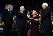Robert Gates sworn in as Secretary of Defense 2006