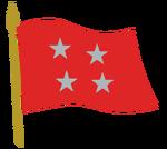 Bandera del Comandante en Jefe del Ejército de Chile