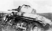 Destroyed LT vz. 35 tank during the Prchala offensive (WFAC)