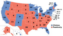 Elecciones Presidenciales de Estados Unidos de 2016 (Chile No Socialista)