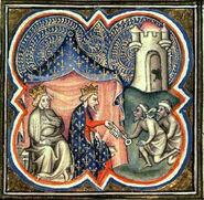 Philippe Auguste et Richard Acre