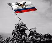 RussianAmericaFlagSetUp