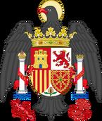 Испанский герб (с 1579)