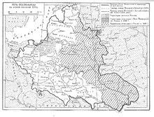 Карта земель отошедших России