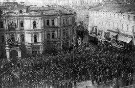 Митинг в Киеве за петухов