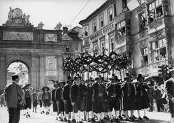 Митинг в Тироле