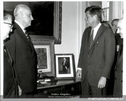Jorge Alessandri y John F. Kennedy (1963)