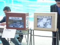 Urnas alcaldes concejales (CNS)
