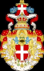 Герб Савойской Италии