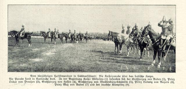 File:Kaiserparade 1909 Karlsruhe.jpg