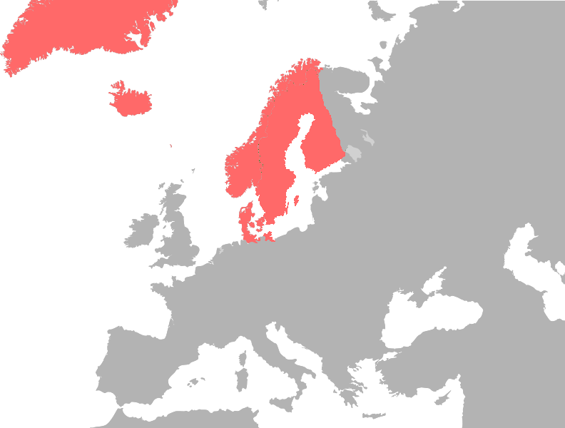 United Kingdom Of Denmark Sweden And Norway Cromwell The