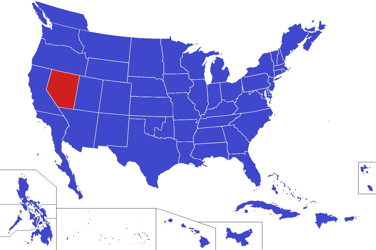 Image United States Map Nevada Alternitypng Alternative - Nevada in us map