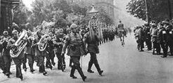 Вступление немецких войск в Вену