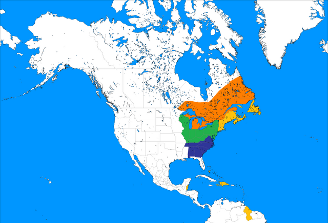 Image Blank Map of North America