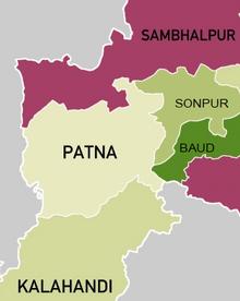 Patna mapa