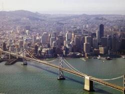 SF and Bay Bridge.JPG