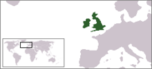 Location Great Britan and Ireland
