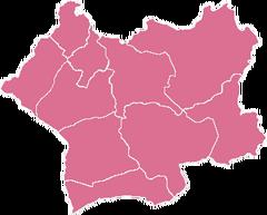 Mapa de la Región de Arica y Tacna