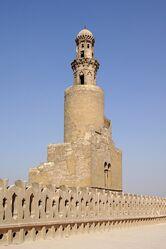 599px-Kairo Ibn Tulun Moschee BW 7