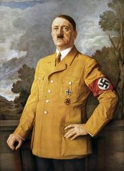 Portrait of Adolf Hitler