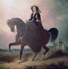 София регентша на коне
