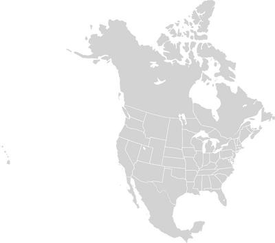 Napoleons world North America Base Map
